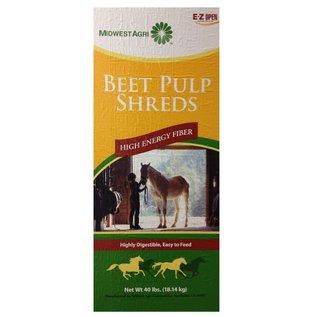 BEET PULP SHREDS PLAIN  40LBS - PESTELL
