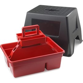 LITTLE GIANT DURA-TOTE STEP STOOL AND TOTE BOX COMBO