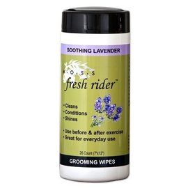MOSS MOSS FRESH RIDER GROOMING WIPES - LAVENDER *CLR*