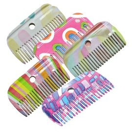 ROMA ROMA PATTERN MANE COMB - ASSORTED COLOURS