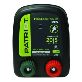 PATRIOT PATRIOT ENERGIZER PE-5 ELECTRIC FENCE CHARGER