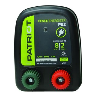 PATRIOT PATRIOT ENERGIZER PE-2 ELECTRIC FENCE CHARGER