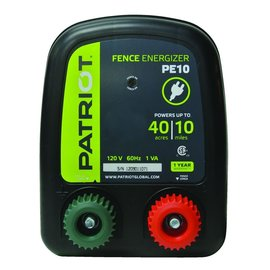 PATRIOT PATRIOT ENERGIZER PE-10 ELECTRIC FENCE CHARGER