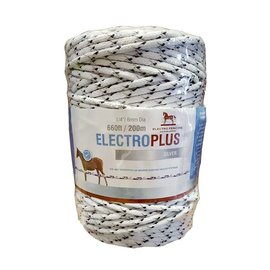 ELECTRO FENCING ELECTROPLUS SILVER ELECTRIC ROPE