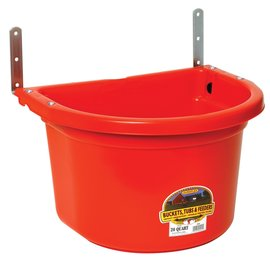 LITTLE GIANT LITTLE GIANT WALL/FENCE MOUNTED FEEDER  20QT
