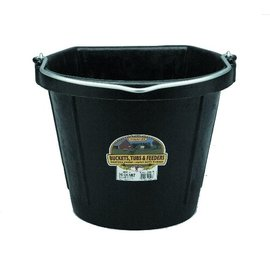LITTLE GIANT LITTLE GIANT RUBBER FLAT BACK BUCKET - 20QT