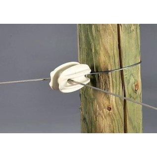 CORNER INSULATORS FOR ELECTRIC FENCING PLASTIC KNOB - PKG 5