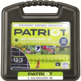PATRIOT PATRIOT SOLARGUARD 50 FENCE CHARGER - 6V
