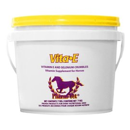 DOMINION VETERINARY LABORATORIES PHARM-VET VITA-E/SELENIUM CRUMBLES