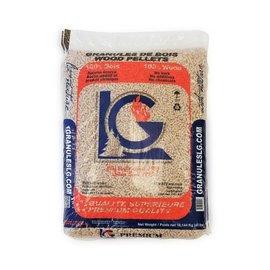 GRANULES LG SOFTWOOD STOVE PELLET (75/SKID)