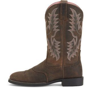 ARIAT ARIAT WOMENS HERITAGE STOCKMAN COWBOY BOOT
