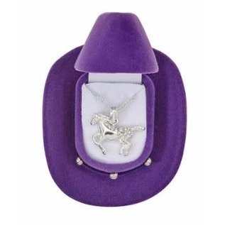 AWST GALLOPING HORSE NECKLACE