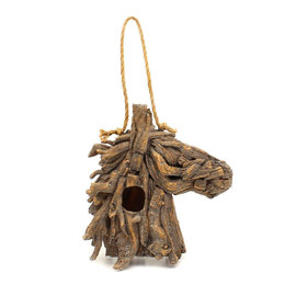 WESTERN MOMENTS WESTERN MOMENTS BIRD HOUSE - HORSE HEAD