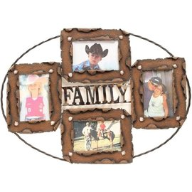 WESTERN MOMENTS WESTERN MOMENTS MULTI PHOTO FRAME - FAMILY