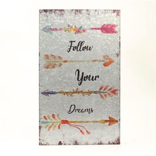 M&F WESTERN WALL SIGN - FOLLOW YOUR DREAMS