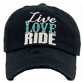 AWST LIVE LOVE LAUGH BALL CAP
