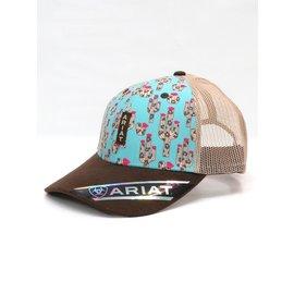 ARIAT ARIAT BALL CAP - CACTUS PRINT