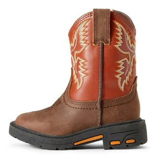 ARIAT ARIAT LIL' STOMPERS WORK HOG TODDLER BOOTS