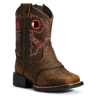 ARIAT ARIAT LIL' STOMPERS HERITAGE ROUGH STOCK BOOTS