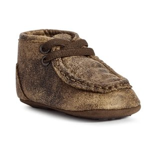 ARIAT ARIAT LIL' STOMPERS INFANT MEMPHIS SPITFIRE SHOES - BROWN