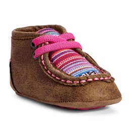 ARIAT ARIAT LIL' STOMPERS INFANT AURORA SPITFIRE SHOES - BROWN