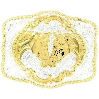 CRUMRINE CRUMRINE BELT BUCKLE - FAITHFUL HORSE