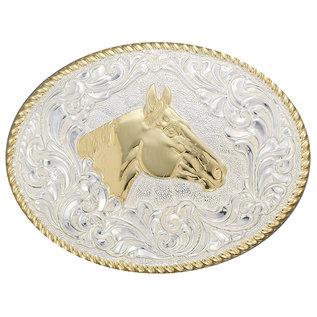 CRUMRINE CRUMRINE BELT BUCKLE - QUARTER HORSE