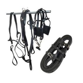 TORY LEATHER TORY LEATHER PLEASURE DRIVING HARNESS - BLACK