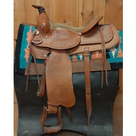 EAMOR'S SADDLERY USED EAMER'S WESTERN TRAIL SADDLE