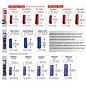 PROFESSIONAL'S CHOICE PROFESSIONAL'S CHOICE VENTECH ELITE SPORTS MEDICINE BOOTS 4 PACK - PATTERNED