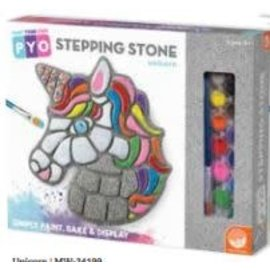 PAINT YOUR OWN STEPPING STONE - UNICORN