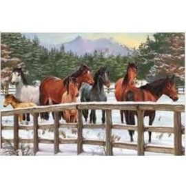 COBBLE HILL PUZZLE - SNOWY PASTURE TRAY