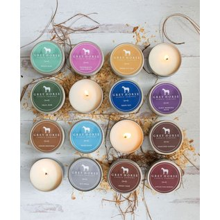 Grey Horse Candle Company GREY HORSE CANDLE - ALL NATURAL SOY TIN