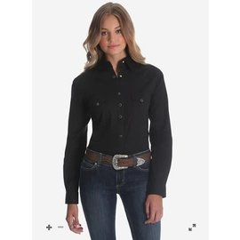WRANGLER WRANGLER LADIES WESTERN SNAP SHIRT