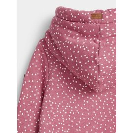 WANAKOME WANAKOME LADIES HOODIE WITH MINI DOTS