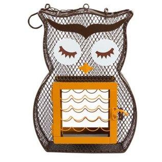 HEATHOUTDOORS BIRD FEEDER - SUET N SEED OWL