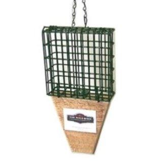BIRD FEEDER - SUET BASKET W/TAIL PROP