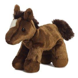 """AURORA MINI FLOPSIE CHESTNUT HORSE - 8"""""""