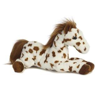 """AURORA FLOPSIE SCOUT HORSE - 12"""""""