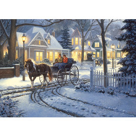 COBBLE HILL PUZZLE - HORSE-DRAWN BUGGY