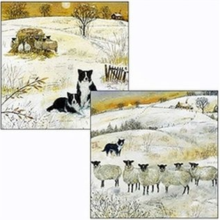 CHRISTMAS 10 PACK GREETING CARDS