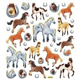 GLITTER HORSE STICKERS