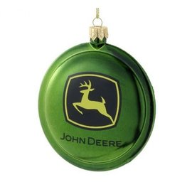 KURT ADLER JOHN DEERE DISC ORNAMEMENT
