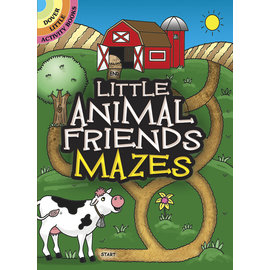 DOVER PUBLISHING LITTLE ANIMAL FRIENDS MAZES BOOKLET
