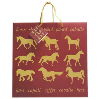 GRAY'S MAROON HORSE GIFT BAGS