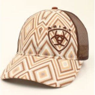 ARIAT ARIAT LADIES AZTEC BALL CAP