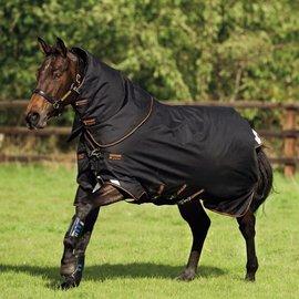 HORSEWARE IRELAND HORSEWARE AMIGO BRAVO 12 PLUS TURNOUT MEDIUM (250G) 60 BLACK/ORANGE