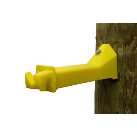 """WOOD POST NAIL-ON INSULATOR 5"""" EXTENSION"""