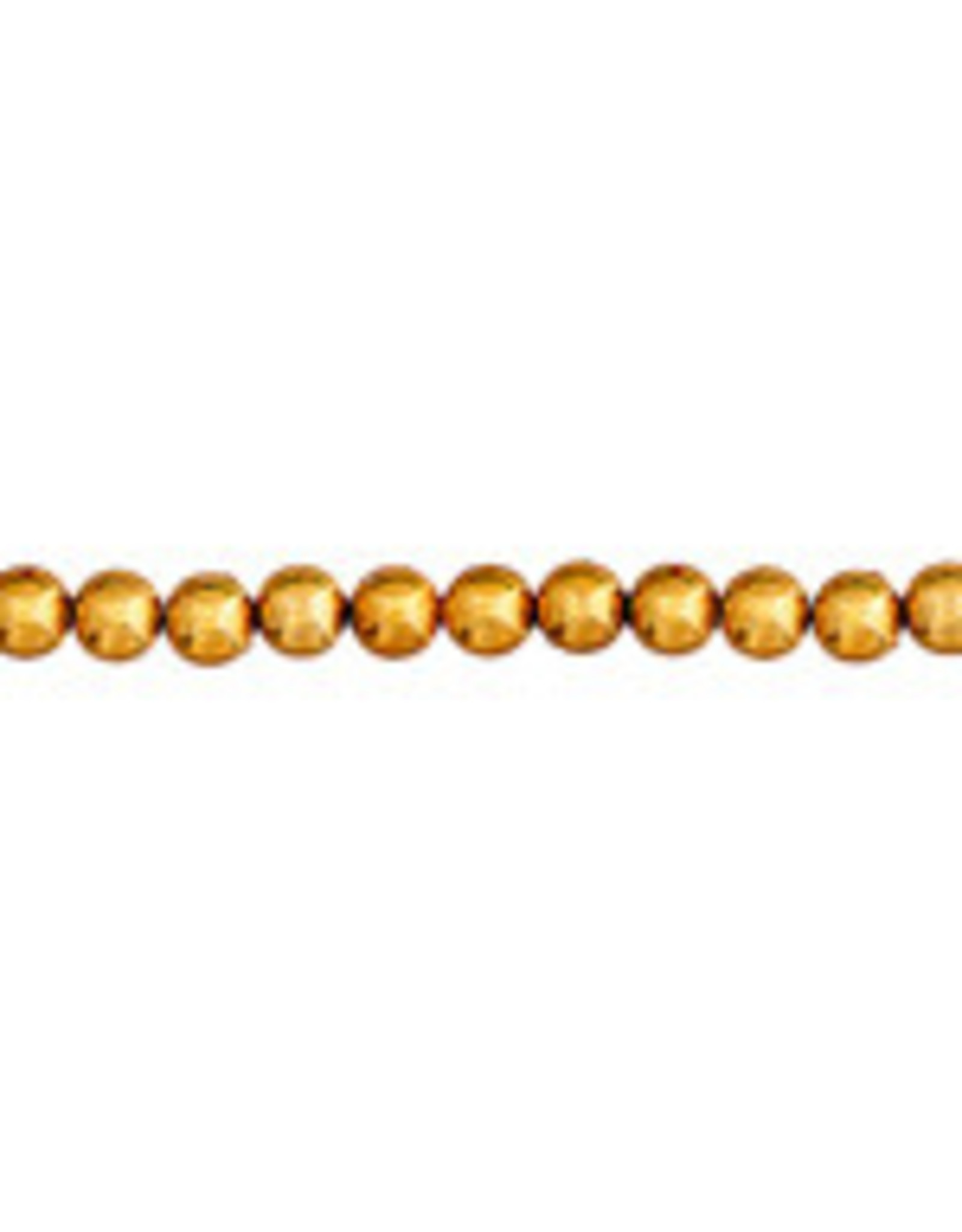 Craft Pearls 3mm Gold