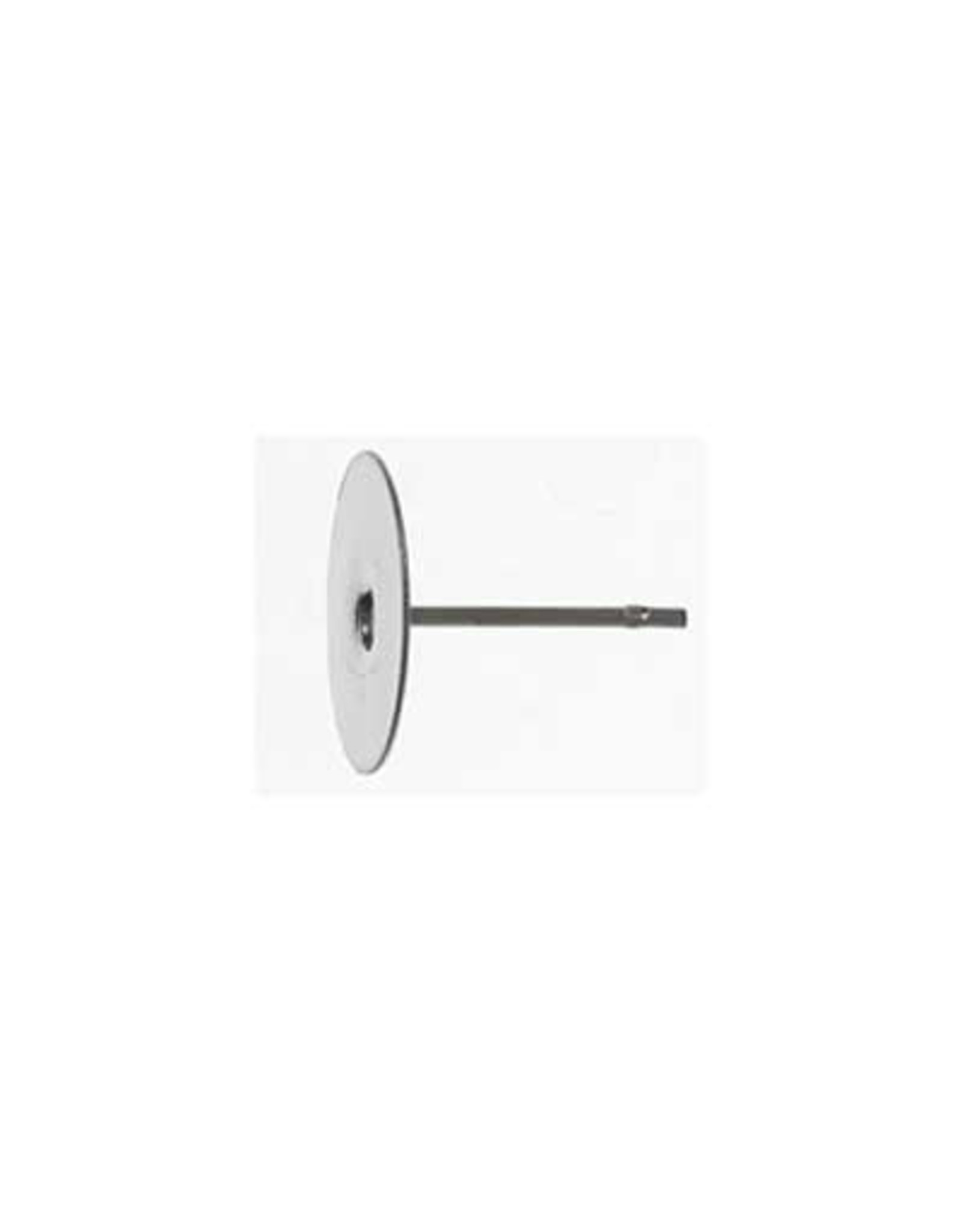 Ear Stud 10mm Flat Nickel Colour  NF x100